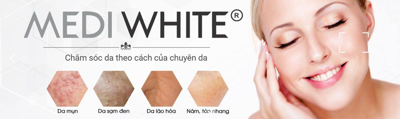 Banner mỹ phẩm Medi White