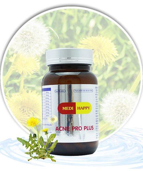 Thuốc uống trị mụn trứng cá Acne Pro Plus Medi Happy