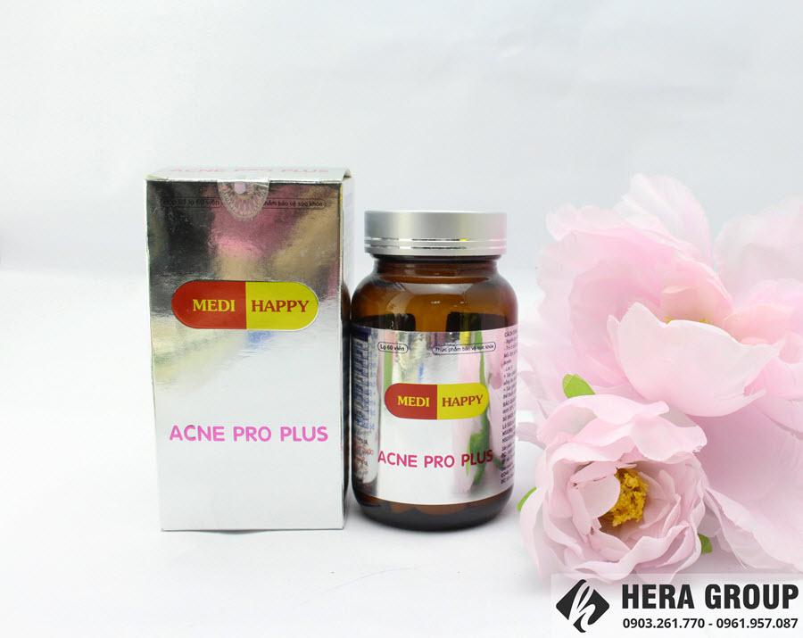 viên uống trị mụn acne pro plus