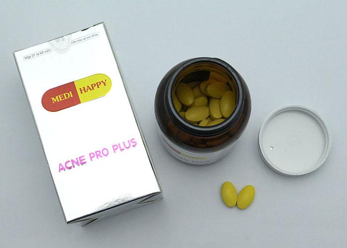 viên uống trị mụn trứng cá Acne Pro Plus