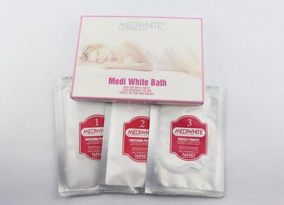kem tắm trắng medi white có tốt không